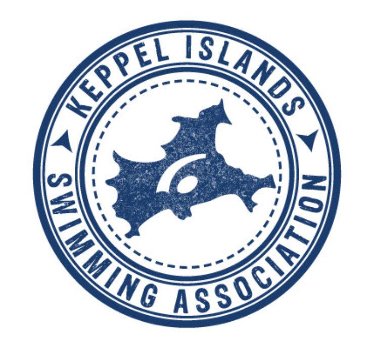Keppel Islands Swimming Association logo